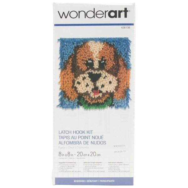 8 X 8 Puppy Wonderart Latch-Hook Kit