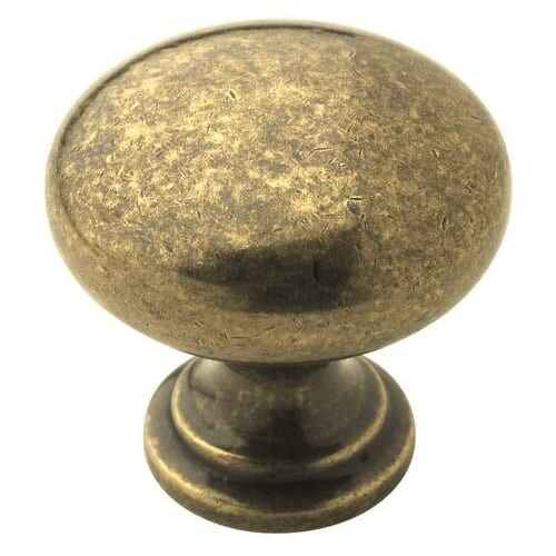 Amerock BP53023 Allison Value Hardware 1-1/4 Inch Diameter Mushroom Cabinet Knob