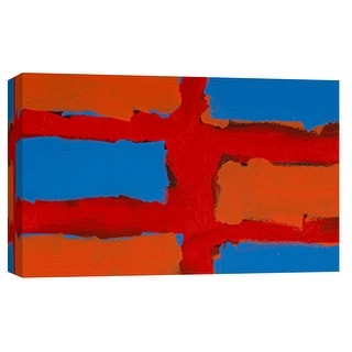 "PTM Images 9-101802  PTM Canvas Collection 8"" x 10"" - ""Color Study 2"" Giclee Abstract Art Print on Canvas"