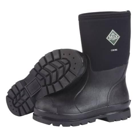 The Original Muck Boot Company Chore Mid Men's Boots 14 US Black