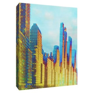 "PTM Images 9-148548  PTM Canvas Collection 10"" x 8"" - ""West Side"" Giclee New York Art Print on Canvas"