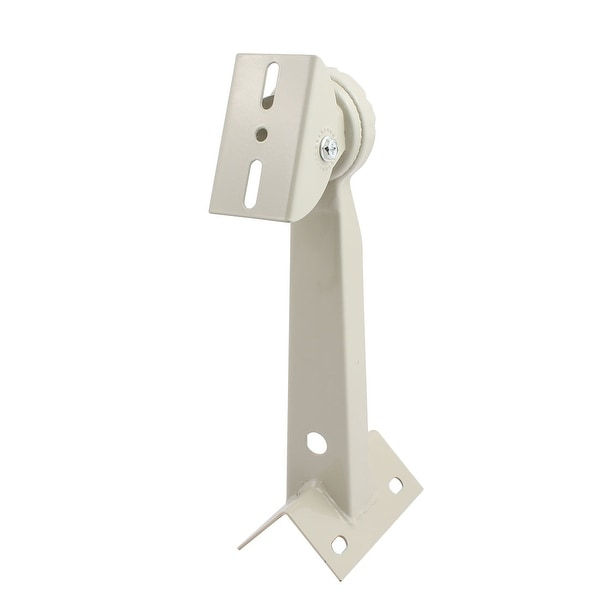 Universal Wall Mount CCTV System Housing Iorn Mounting Bracket Gray 300mm Height