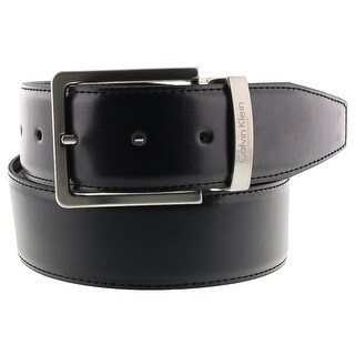 Calvin Klein Reversable NERO MORO Black/Brown Mens Belt