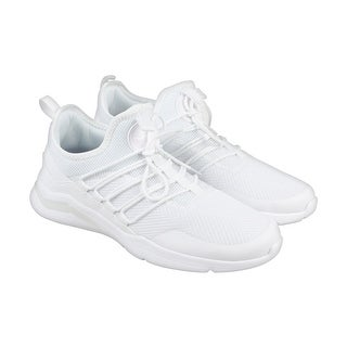 Reebok Royal Astrostorm Mens White Mesh Athletic Slip On Running Shoes