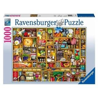27 x 20 in. Kitchen Cupboard Jigsaw Puzzle, Silver - 1000 Piece