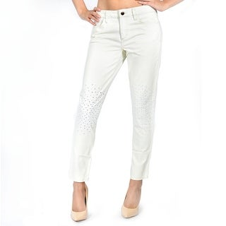 Bootcut Visionaire Jean In Modcut - White