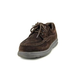 Hush Puppies Gus EW Round Toe Suede Oxford