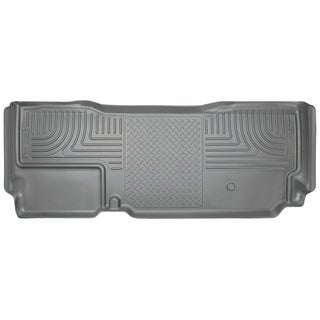 Husky Weatherbeater 2011-2016 Ford F-250/F-350/F-450 SD SuperCab 2nd Row Grey Rear Floor Mats/Liners