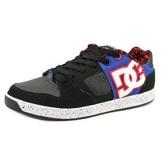 DC Shoes Sceptor TP Men Round Toe Leather Black Skate Shoe