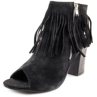 Diba True In Tern Women  Peep-Toe Suede  Slingback Heel