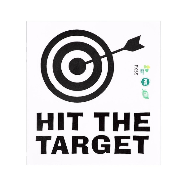 Hit The Target Wall Stickers Removable Cartoon DIY Decal for Bedroom Living Room