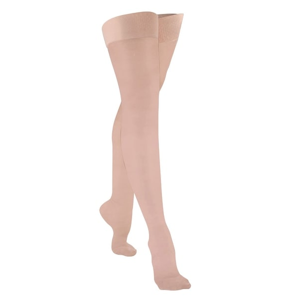 Women's Support Plus Surgical Support Thigh High Stockings - Closed Toe