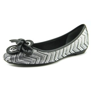 J. Renee Edie W Square Toe Canvas Flats