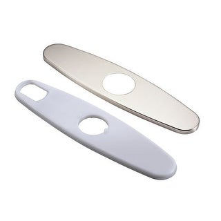 "Danze DA607105 8"" Single Hole Centerset Kitchen Escutcheon Plate"