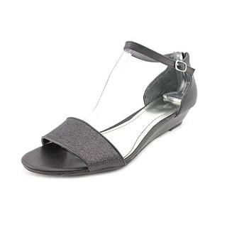 Style & Co Sandra Open Toe Synthetic Wedge Sandal