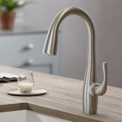 Kraus KPF-1670 Esina 2-Function 1-Handle Pulldown Kitchen Faucet