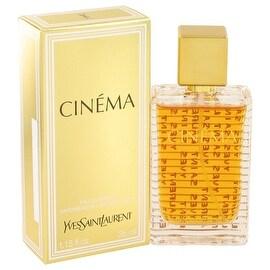 Eau De Parfum Spray 1.15 oz Cinema by Yves Saint Laurent - Women