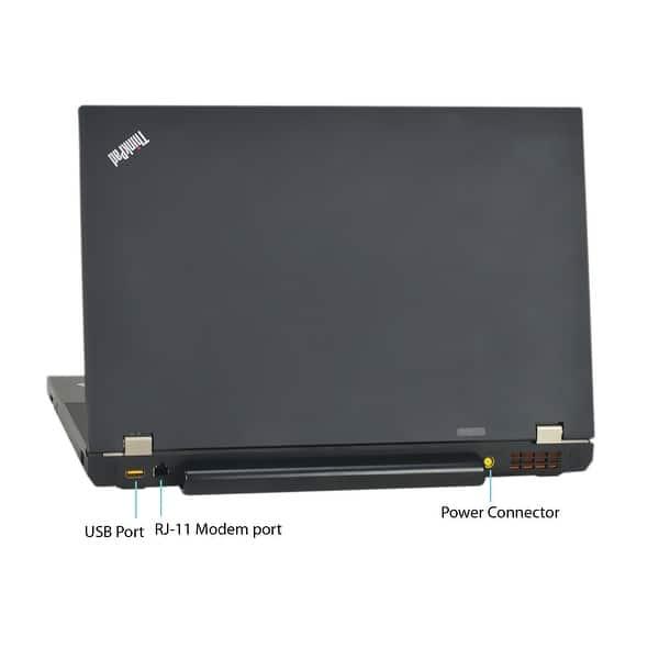 Shop Lenovo ThinkPad T510 15 6-inch 2 4GHz Core i5 8GB RAM