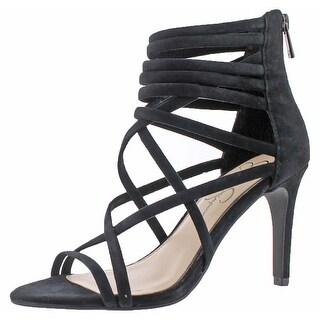 Jessica Simpson Harmoni Women's Suede Heel Dress Shoes (Option: Mauve Taupe - 7)