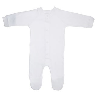 Bambini Interlock White Closed-toe Sleep & Play - Size - Large - Unisex