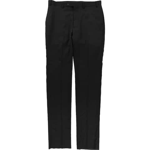 Calvin Klein Mens Textured Dress Pants Slacks
