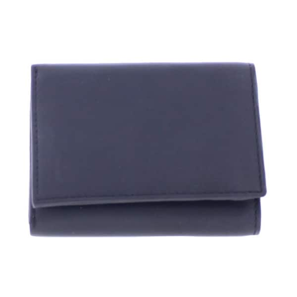 Flair Mens Trifold Wallet Leather Flap