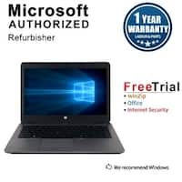"Refurbished HP ProBook 640G1 14.0"" Intel Core i5-4300M 2.60GHz 4GB DDR3 120GB SSD Windows 10 Pro 64 Bits 1 Year Warranty"