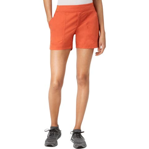Columbia Womens Walkabout Casual Shorts Regular Fit Mid-Rise
