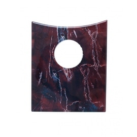 Replacement Waterfall Faucet Square Glass Disc Plate Rock