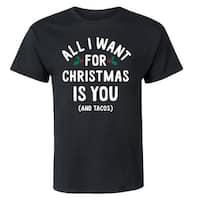 All I Want For Christmas Is You  - Adult Short Sleeve Tee
