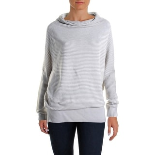 Kiind Of Womens Tori Sweater Oversized Mock Neck