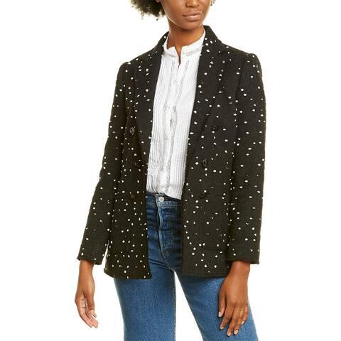 Rebecca Taylor Boucle Tweed Blazer
