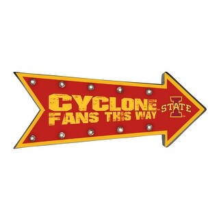 Iowa State Cyclones Arrow Marquee Sign