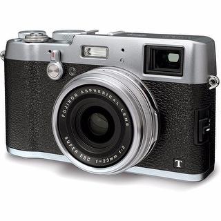 Fujifilm X100T 16MP Silver Digital Camera