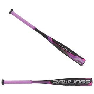 "Rawlings Storm Fastpitch -12 T-Ball Bat 24""/12 oz (Purple)"