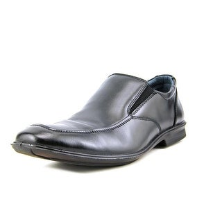 Hush Puppies Gravity Slip On Men W Apron Toe Leather Loafer