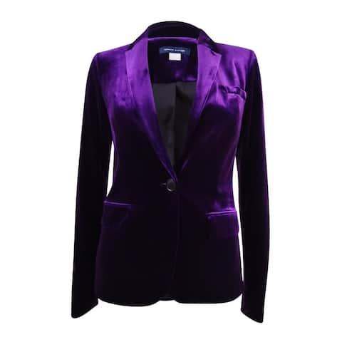 Tommy Hilfiger Women's Velvet Blazer