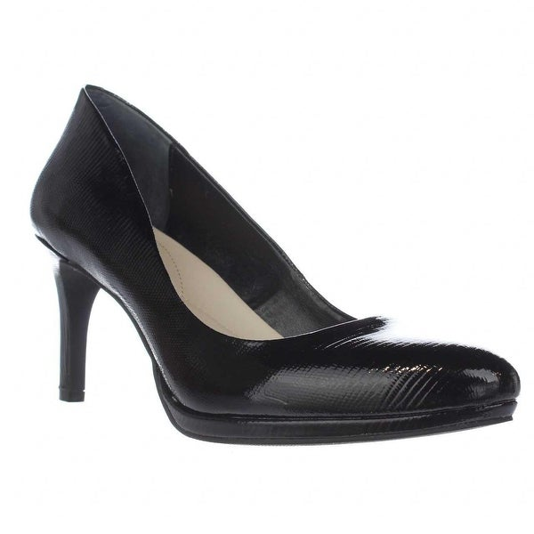 A35 Glorria Rounte Toe Classic Pumps, Black
