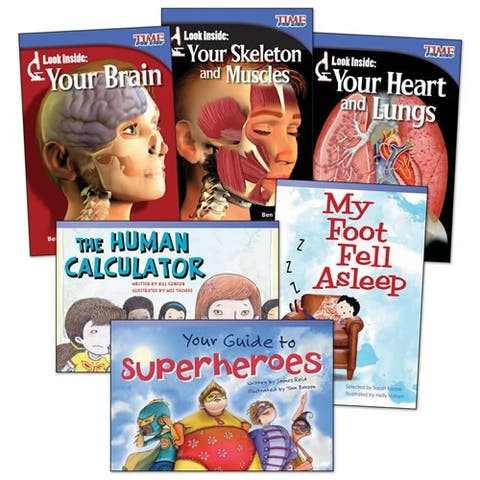 The Human Body Books - Set of 6
