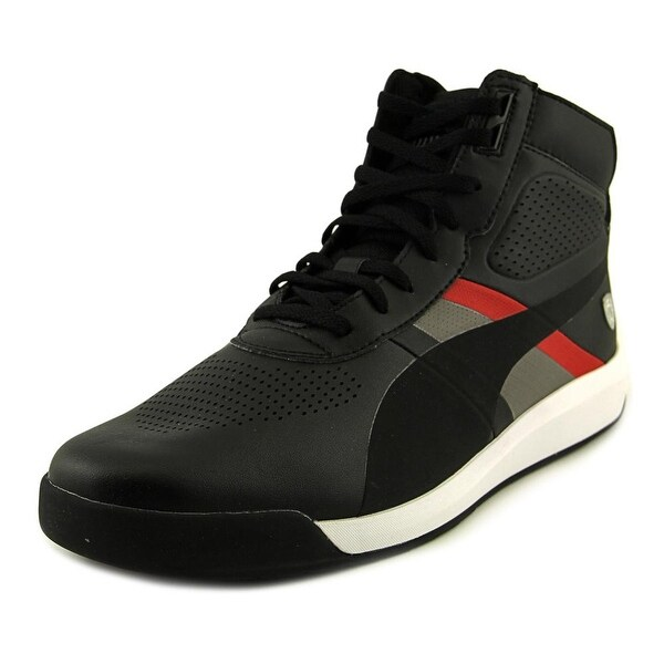 Puma Podio Mid SF Men  Round Toe Synthetic Black Sneakers