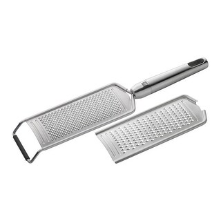 ZWILLING J.A. Henckels TWIN Pure 2-pc Stainless Steel Multi-grater Set - STAINLESS STEEL