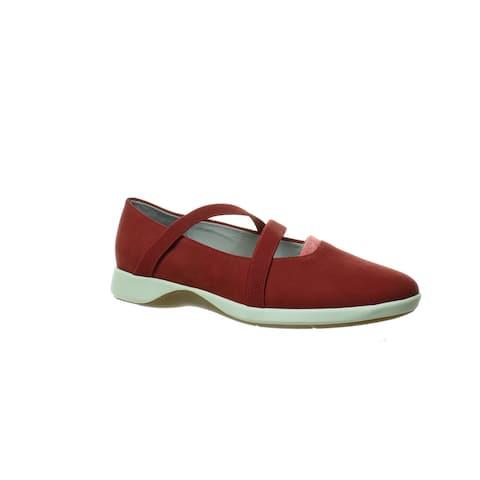 Softwalk Womens Sava X Haely Dark Red Casual Flats EUR 38