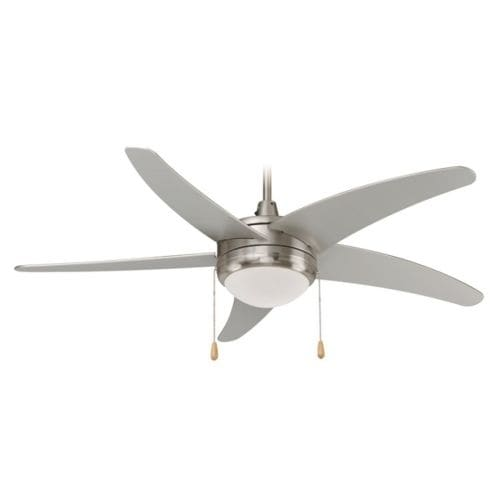 """Miseno MFAN-5201 50"""" Indoor Ceiling Fan - Includes 5 MDF Blades, Light Kit and Bulbs"""