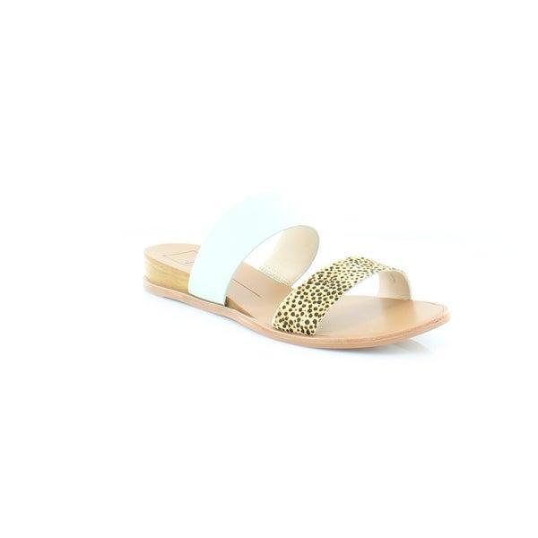 Dolce Vita Payce Women's Sandals & Flip Flops Mint Multi Calf Hair