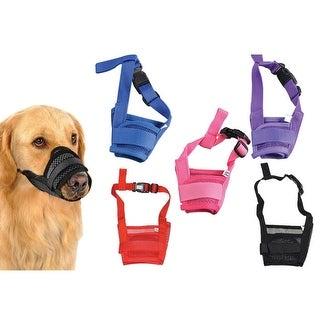 Adjustable Mask Bark Bite Mesh For Dogs