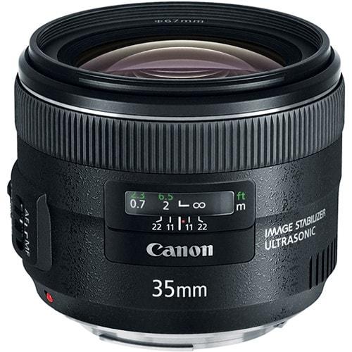Canon EF 35mm f/2 IS USM Lens (International Model)