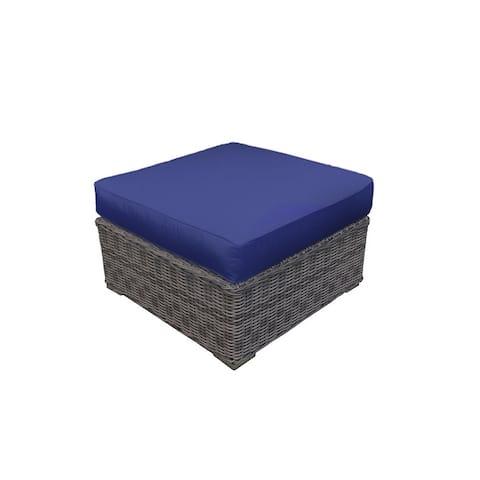 Cozy Corner Patios Garden Furniture- Ottoman with Sunbrella Fabric