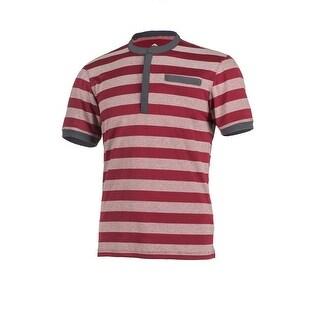 Club Ride Shirt Mens Buxton Short Sleeve Button Stripe Cycling MJBX601