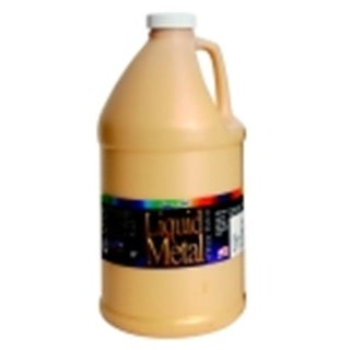 Liquid Metal Non-Toxic Premium Acrylic Paint - 64 Oz. - Metallic Gold