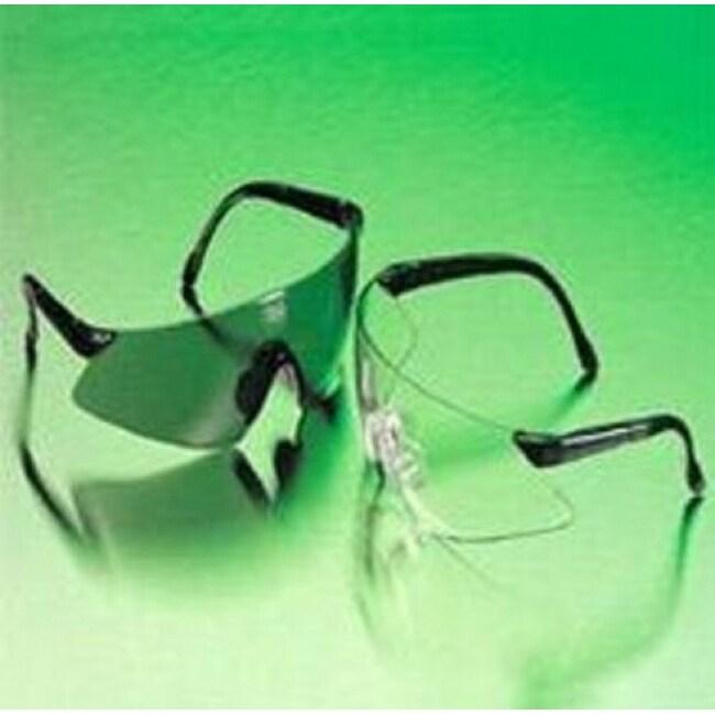 MSA 697517 Luxor Safety Glasses Smoke, Gray, Scratch Resistant Lens